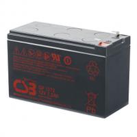 Аккумулятор свинцово-кислотный (AGM) CSB GP1272F2, 12V 7,2Ah