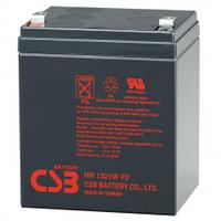 Аккумулятор свинцово-кислотный (AGM) CSB HR1221WF2, 12V 5Ah