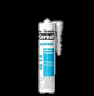 Герметик Ceresit CS 15 Sanitary санітарний силіконовий 280 мл