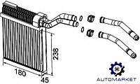 Радиатор печки (отопителя) Ford Mondeo 2010-2014