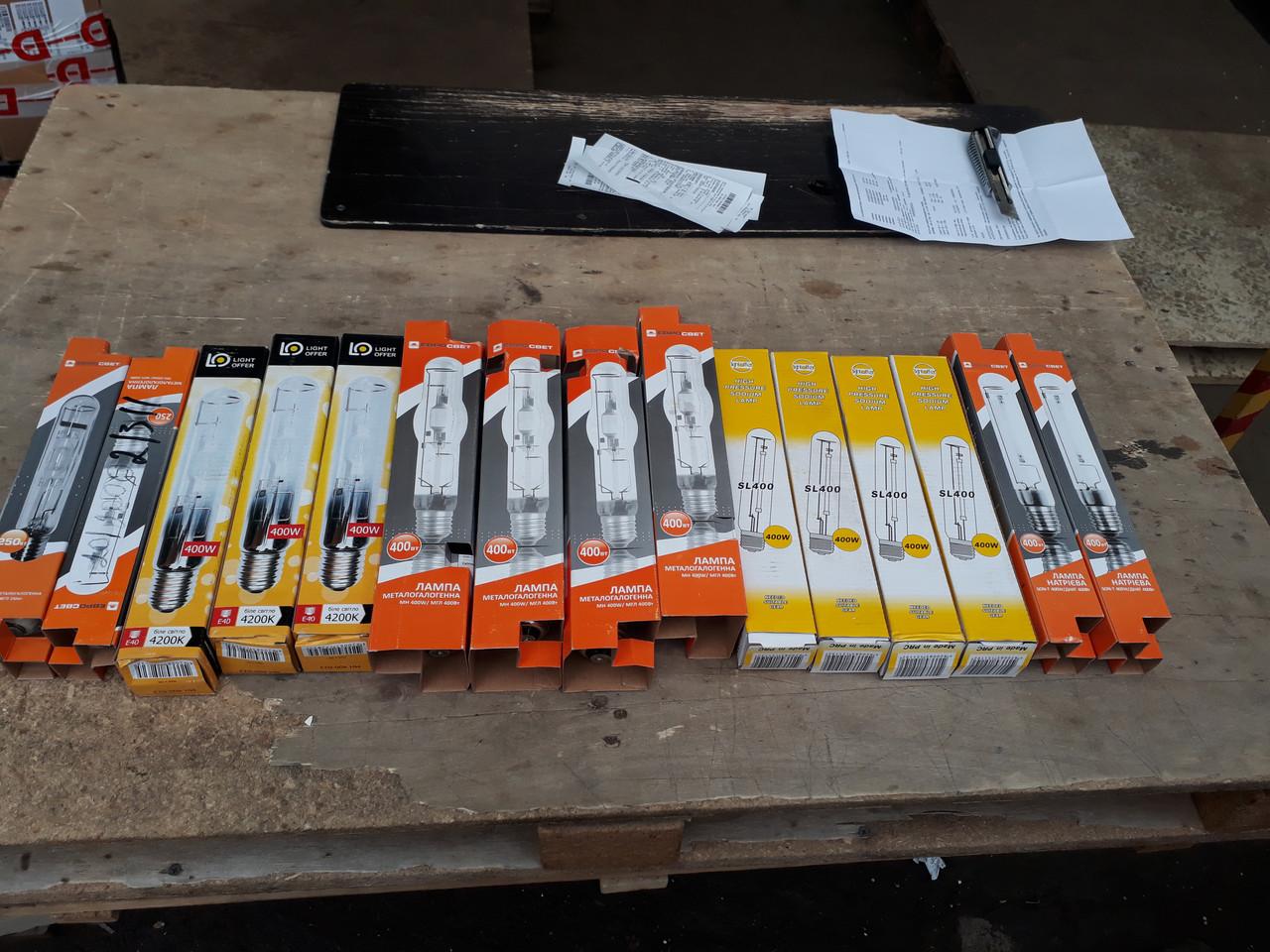 Металлогалогенная лампа 400w MHT Евросвет МГЛ 400