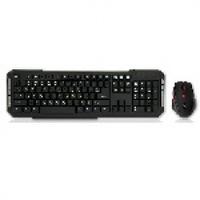Комплект беспроводной (KB+Mouse) HQ-Tech KM-219RF Gray, 2.4G, USB nano, мультимедия