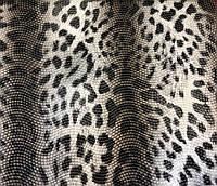Искуственная кожа леопард
