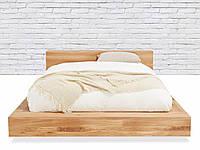 Кровать подиум из массива дуба на заказ #2