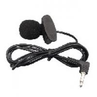 Микрофон проводной на прищепке YW-001, Black, Blister