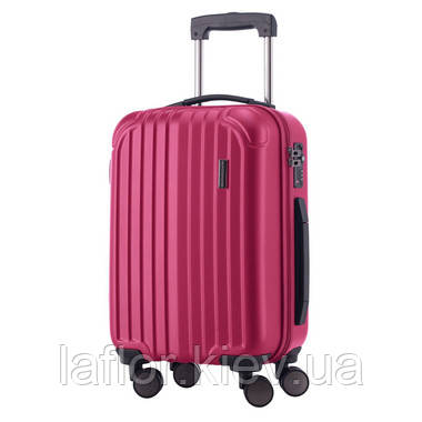 Чемодан на колесах Hauptstadtkoffer Qdamm Mini розовый