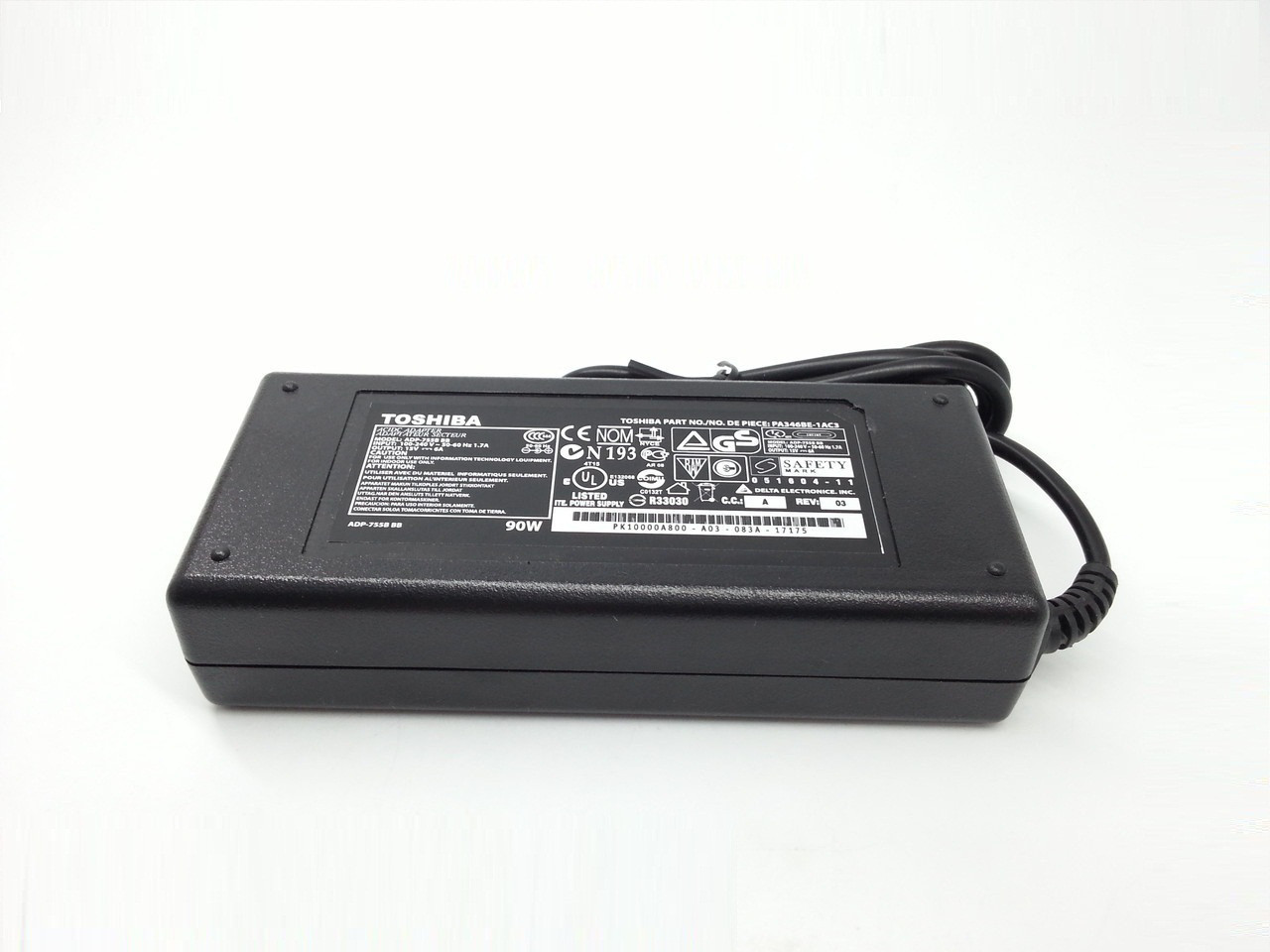 Блок питания для ноутбука Toshiba Satellite 2655XDVD 15V 6A 90W 6.3*3.0mm