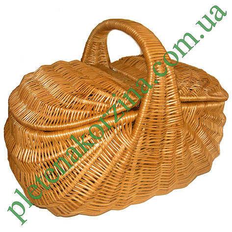 "Плетеная корзина для пикника ""Индонезия"" Арт.120, фото 2"