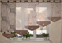 Японские занавески  Здания беж 2,5м, фото 1