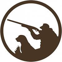 Чипборд Охотник с собакой 2
