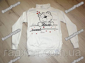 Кофта / реглан / светр жіночий білого кольору., фото 2