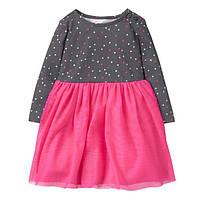 Детское трикотажное платье  18-24 месяца, 2 года