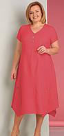 Платье Novella Sharm-2590к белорусский трикотаж, красные тона, 56