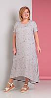 Платье Novella Sharm-2880 белорусский трикотаж, светлые тона, 62, фото 1