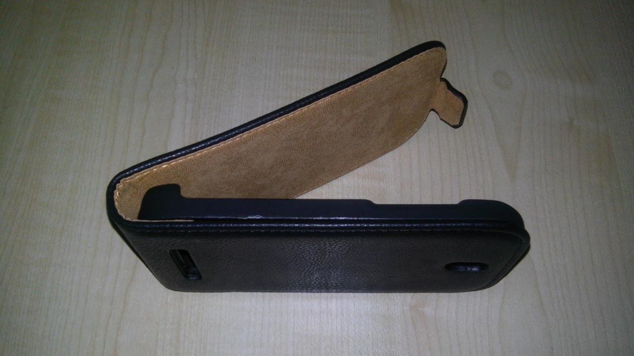 Чехол-флип для Lenovo S920 черный