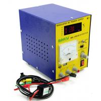 Блок питания с цифровой индикацией Baku BK 1501D (15 вольт 1 ампер, защита от кз )