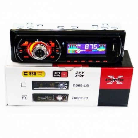 Автомагнітола магнітола Bluetooth 680U 690U MP3 FM SD USB, AUX пульт