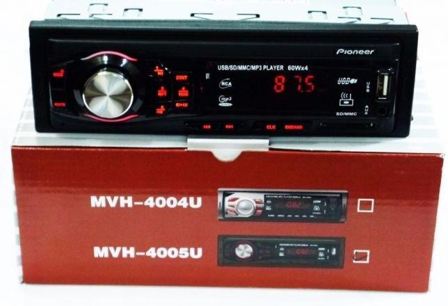 Автомагнітола MVH-4005U 60W MP3/SD/USB/AUX/FM автмобильная магнітола, магнітофон в машину