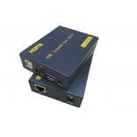 HDMI PW-DT103KM-IR-TX Приемник HDMI сигнала по сети ETHERNET + ИК (пульт) + USB на расстояние 100м. Работает в паре с передатчиком HDMI PW-DT103KM-IR