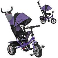Детский Трехколесный велосипед TURBO TRIKE M 3113-8A колесо покрышка+камера (Фиолетовый)