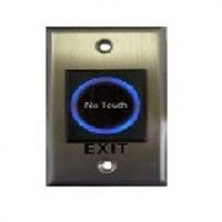 Кнопка выхода сенсорная, врезная, NO/NC/C, нержавейка, диодная подсветка кнопки выхода, DC 12V