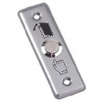 Кнопка выхода накладная, NO/C, нержавейка, максим.ток 3А, 80х30х20мм