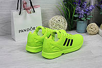 Кроссовки Adidas ZX Flux (салатовые) кроссовки адидас adidas 4760