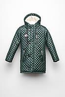 Зимняя куртка для мальчика -26283-12, (Темно-зеленый)