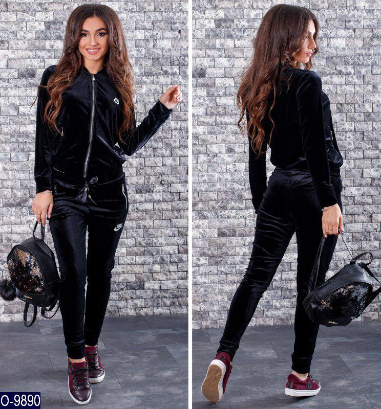 7058139f9cd Женский велюровый спортивный костюм Nike  продажа