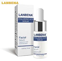 Концентрированная сыворотка Lanbena  гиалуроновая кислота + экстракт улитки: против морщин,лифтинг,увлажнeние
