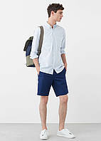 Рубашка MANGO MAN 584-50 Голубой