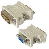 Переходник VGA(мама)/DVI-I 24+5 (папа) Grey