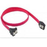 Кабель интерфейсный SATA 0.45м, прямой без защелки, красный