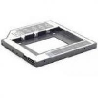 Адаптер подключения HDD 2.5'' 9.5 mm в отсек привода ноутбука SATA/mSATA (HDC-25), Blister