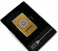 Электроимпульсная зажигалка USB MERSEDES