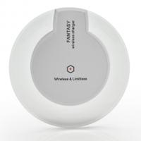 Набор Fantasy платформа+ адаптер для беспроводной зарядки, под iPhone 6/5/5s/5c, кабель USB/micro 1m, White, Blister
