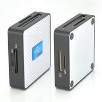 Кардридер универсальный USB 3.0 HDH-939 SD/ MMC/MS /TF/M2, USB2.0, White, Блистер