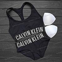 Комплект белья Calvin Klein со съемными чашечками (чёрный )