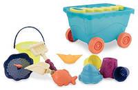 Набор для игры с песком и водой Battat Тележка море (BX1596Z)