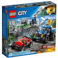Конструктор LEGO City Police Погоня на грунтовой дороге (60172)