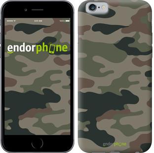 "Чехол на iPhone 6s Камуфляж v3 ""1097c-90-571"""