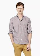 Рубашка MANGO MAN 503-50 Гранатовый