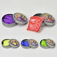 Жвачка для рук С 23190 /ЦЕНА ЗА 1 ШТУКУ/ (360) 5 цветов, 50 грамм, 12шт в упаковке