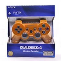 Геймпад беспроводной для PS3 SONY Wireless DUALSHOCK 3 (Gold), 3.7V, 500mAh