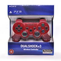 Геймпад беспроводной для PS3 SONY Wireless DUALSHOCK 3 (Red), 3.7V, 500mAh