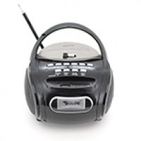Радиоприемник COLON RX-186, Led, 2x3W, FM радио, Входы microSD, USB, AUX, корпус пластмасс, Black, BOX