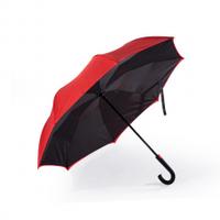 Полуавтоматический зонт REMAX RT-U1, D-110см, SPF-UPF50+, UV (99%), дождя, каркас - Al+Fe, Red, Case