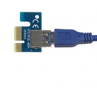 Переходник с PCI-e x1 на USB 3.0, OEM