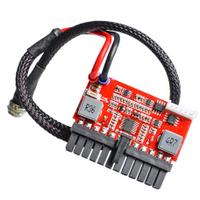 Дополнительный модуль-плата питания для материнской платы Pico PSU ITX Z1 DC-ATX-250W, 24Pin, 12V, RESET, 4pin+Molex + SATA