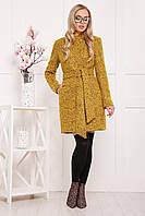 Женское демисезонное пальто с воротником стойкой (2 цвета)